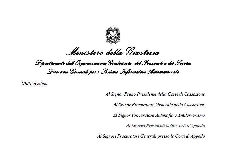 Firma digitale – Carte Multiservizi della Giustizia Mod. AT elettronico (CMG ) – Firma digitale